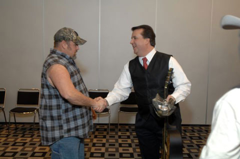 David Harris & Larry the Cable Guy