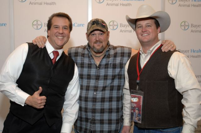 David Harris and Larry the Cable Guy