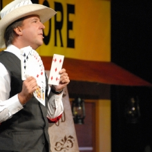 David Harris Magic Stage Show