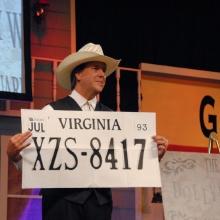 David Harris License Plate Trick