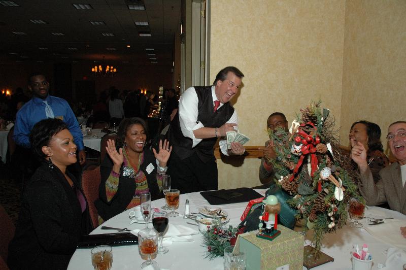 David Harris at Total Holiday Party